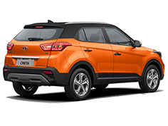 rent at low price SUV Hyundai Creta car near Algiers