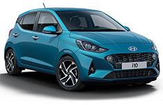 Hyundai i10 car rental agency at alger airport